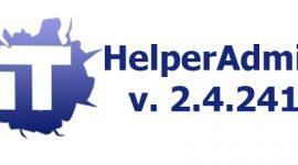 HelperAdmin v. 2.4.241